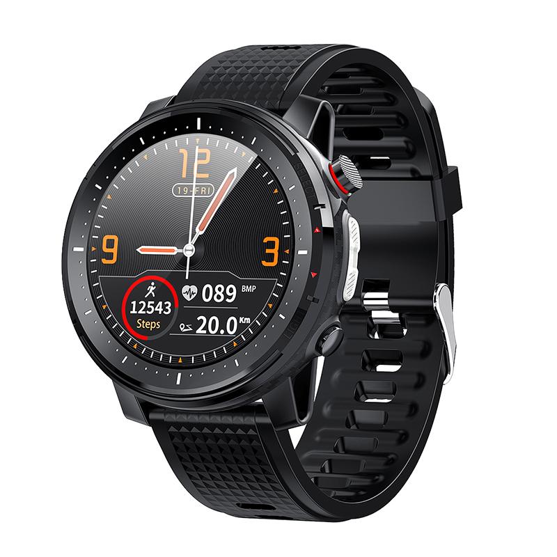 L15 Smart Watch Men 1.3inch Full-fit Round Retina Display Music Control Camera Flashlight PK L5 L9 Smartwatch IP68 Waterproof - ANKUX Tech Co., Ltd