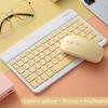 Kuning keyboard dan mouse