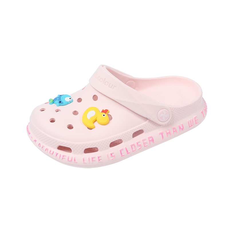 Милая детская обувь с рисунком; Обувь для сада; Дышащие пляжные повседневные сандалии; Детские Сабо