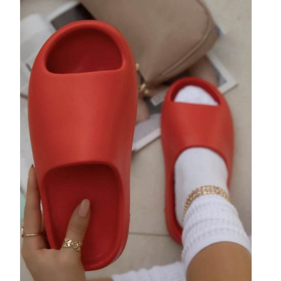 drop shipping kids slippers pink red yeezy slides yezzy slippers colorful for womens and ladies