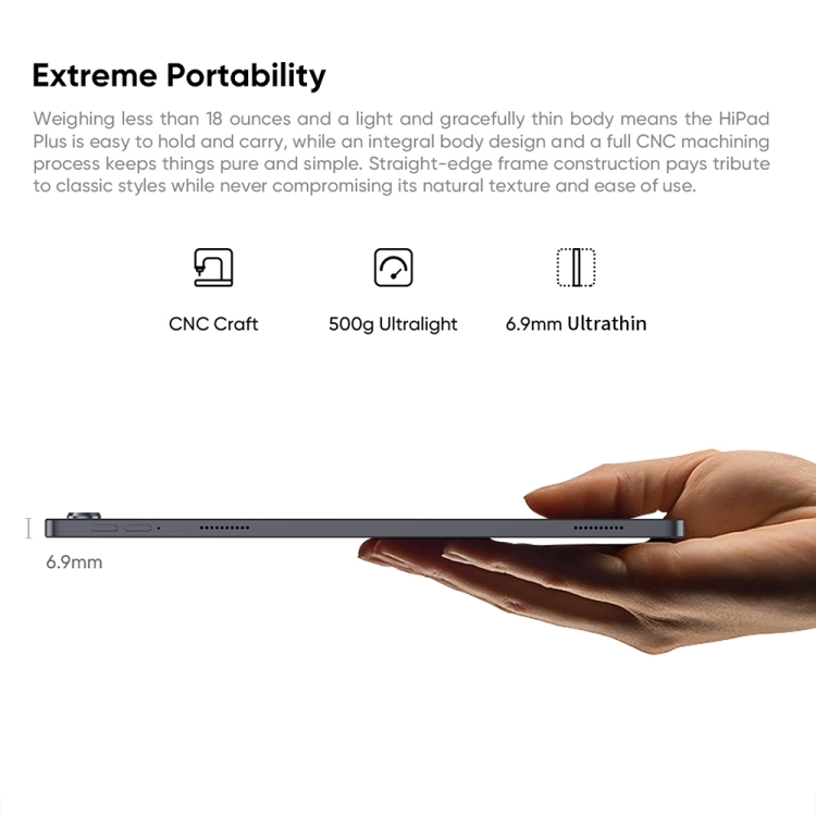 2021 Новое поступление CHUWI HiPad плюс планшетный 11 дюймов 4 Гб + 128 ГБ Android 10 двухдиапазонный Wi-Fi и OTG MT8183 Octa Ядро планшетных ПК