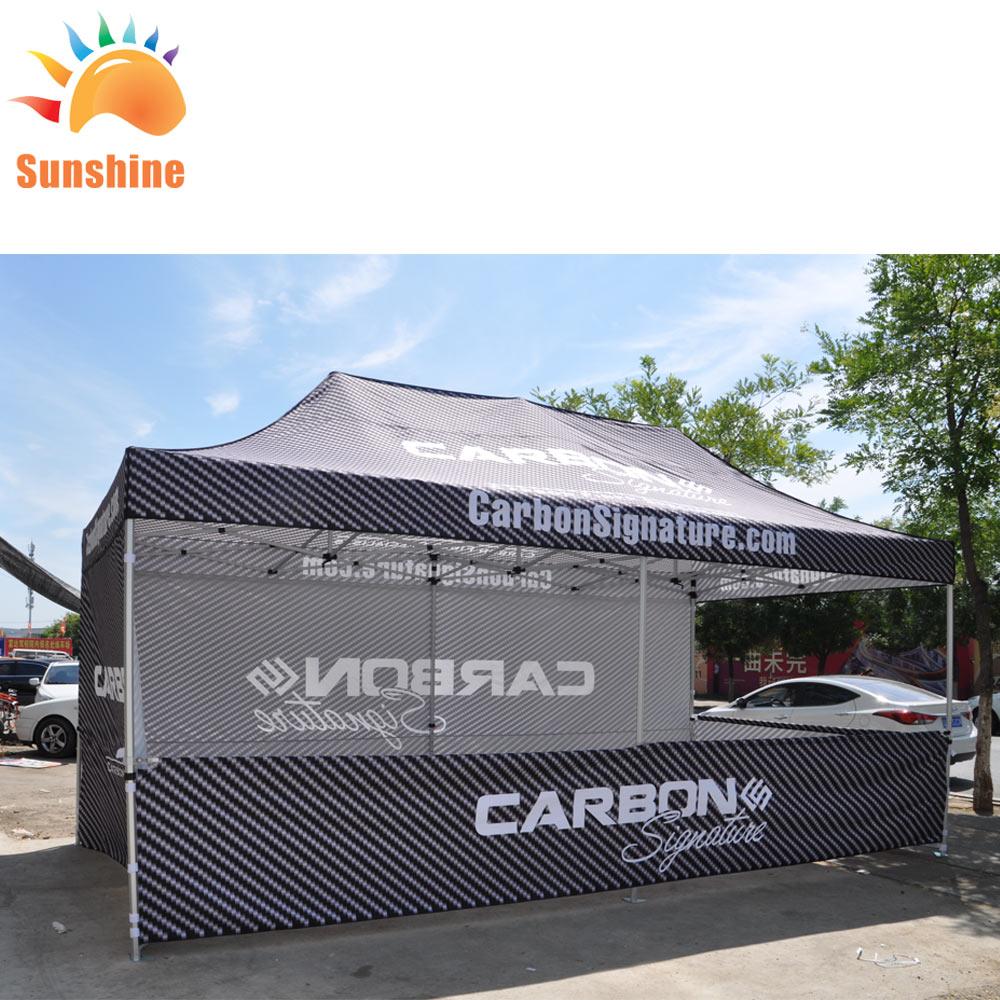 Напечатанные на заказ выдвижные палатки 10x20 футов настраиваемые палатки для мероприятий
