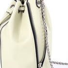 Women Hot Sell PU White Barrel Bag Leather Casual Bucket Shape Women Handbags Shoulder Bag For Girls