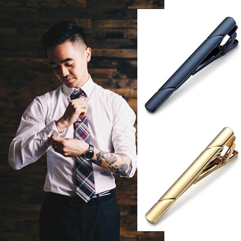 Tie Clips Wholesaler Classic Designed Copper Texture Business Jewelry For Men