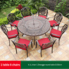 20-8 JL chair 1 Zhengge round table D150cm