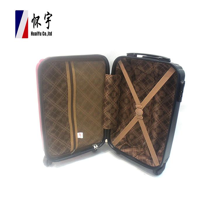 China Manufacturer Travelling Bags Fashion Customized Design Ladies Travel Suitcase Trolley Luggage Set