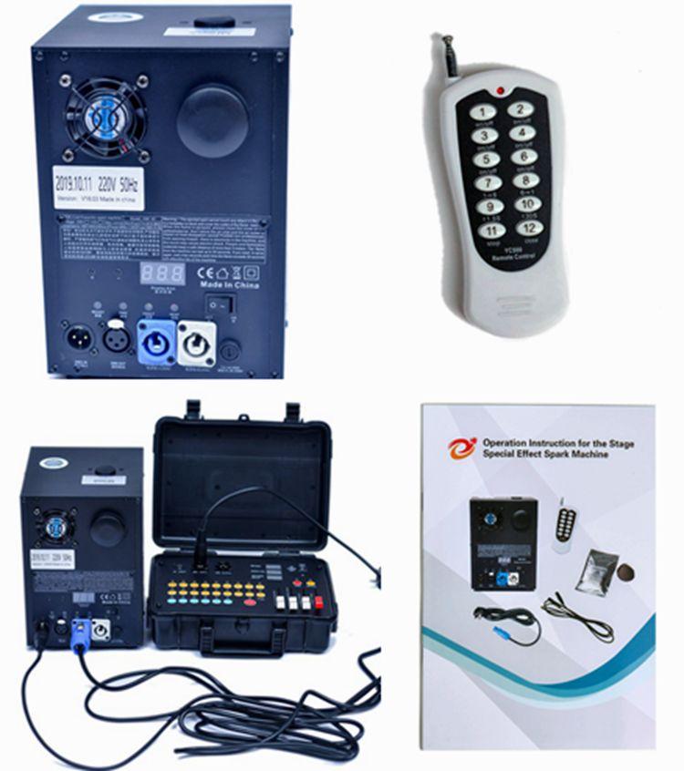 Unico холодный фейерверк искра машина DMX 512 контролируемый холодный фейерверк машина является новой инновационной сцены фейерверка машина