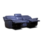 Modern Sofas Modern Modern Fancy Living Room Blue Leather Sofas Sets