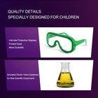 Diy Kids Toy Kids Educational LFDIY6050 Wholesale OEM Eco Friendly DIY Chemical Educational Toy Stem Science Kids Lab Experimental Kit