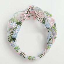 1 шт., вышитая кружевная Цветочная Женская широкая повязка на голову, винтажная повязка на голову ручной работы, эластичная повязка на голов...(Китай)