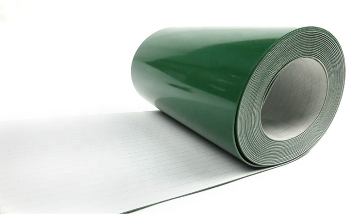 pvc/pu conveyor belt workshop conveyor belt Green PVC conveyor belt manufacturer in china