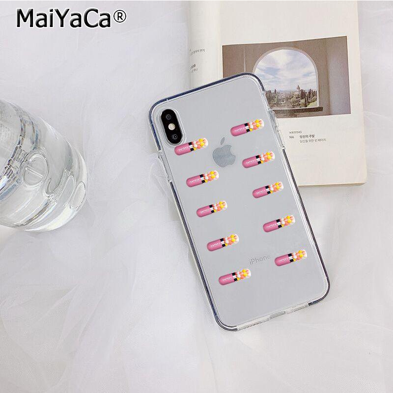 MaiYaCa прозрачный медицинский лекарственный таблетки капсулы Новое поступление телефон чехол для iphone 11 pro 8 7 66S Plus X XS MAX 5s SE XR крышка(Китай)