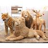 standing brown leopard