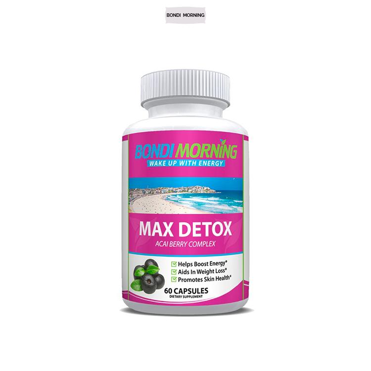 Detoxifiere Naturala Supliment de plante detox max