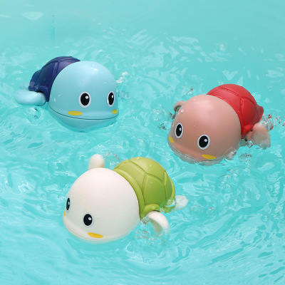 Customizable 2020 Funny play turtle toy turtle baby bath toy turtle swimming toy