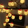 Warm White Santa Claus