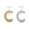 C(gold or rhodium plated)