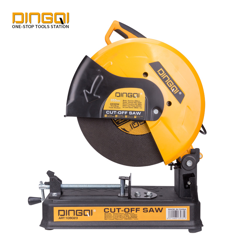 DINGQI 220V 2300W Multifunction Aluminum Stainless Steel Cold Cutting Machine 355mm Cut Off Saw
