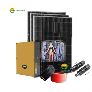 Jingsun 15KW Good Quality on Grid Solar System Grid Tied Solar Energy Systems