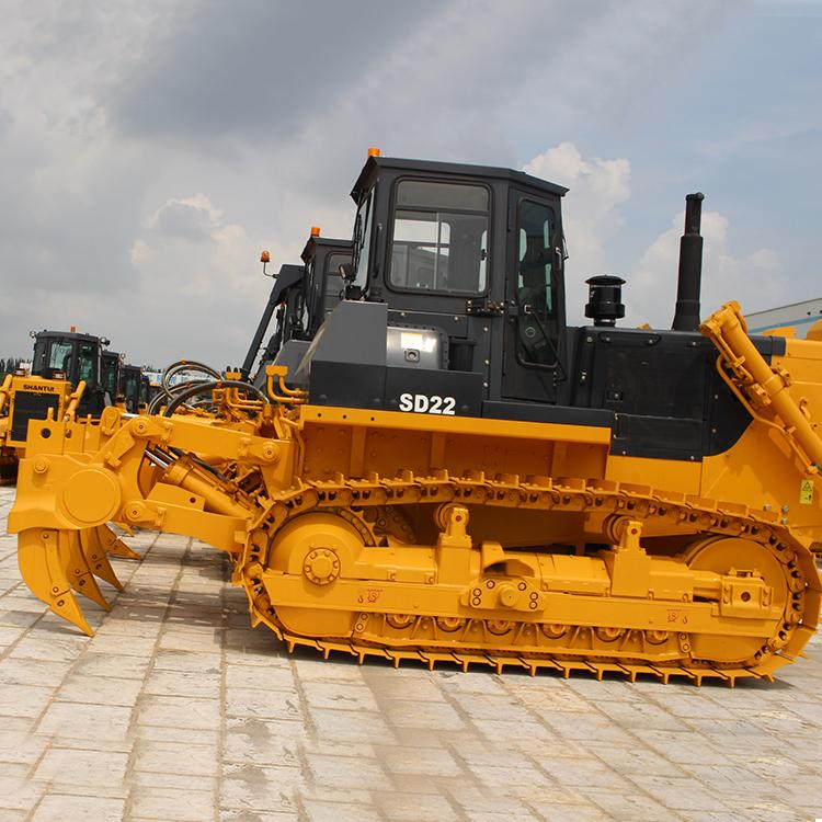 Высокоэффективный новый гусеничный бульдозер Shantui для строительства гражданского дорожного пути SD22 с кабиной ROPS