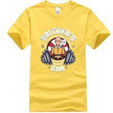 XINYI Мужская футболка 100% хлопок футболка высокого качества Аниме Рубашка мужская футболка с принтом Модная Удобная Повседневная футболка дл...(Китай)