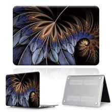 Для Apple MacBook Air Pro Retina 11 12 13 15 / Pro 13 15 16 с сенсорной панелью-пером Жесткий Чехол для ноутбука + клавиатура(Китай)