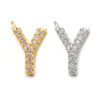 Y(gold or rhodium plated)