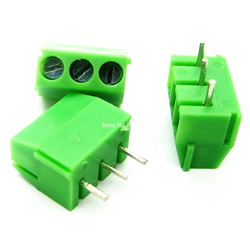 KF350-2P 3.5mm Pitch Straight Pin Terminal Block Terminals PCB Screw Connectors