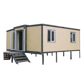 Supply new design portable modular flat-pack waterproof foldable 20ft container home building for Australia