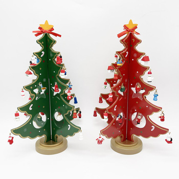 29cm DIY Wooden Christmas Tree Decoration
