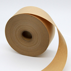 Kraft Paper Adhesive Craft Acrylic Water Activated Paper Tape Fiber Reinforced Water Activated Kraft Paper Adhesive Tape Craft Paper Tape