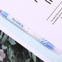 Волшебная флуоресцентная ручка с двойным концом хайлайтер мейкер художественная живопись ручка изменение цвета для планировщика дневник ...(Китай)