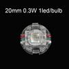 20mm 0.3w 1led/lamp