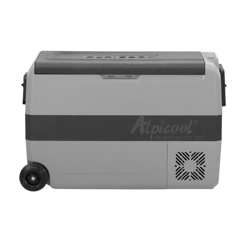 Портативные уличные холодильники Alpicool T50 DC, холодильник с морозильной камерой с 38 квартами для автомобилей, кемпинг, рыбалка, дорога, поездка, пляжный автомобиль