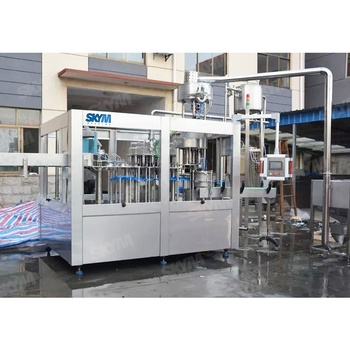 Automatic drinking water / milk / juice filling packaging machine / water bottling plant in Zhangjiagang