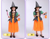 PPumpkin pack witches set of 4 pieces
