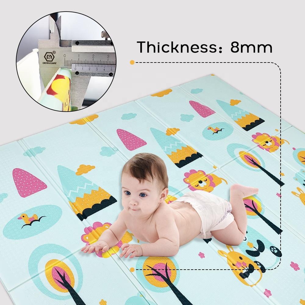 Детский коврик для ползания из пены xpe, Детский ковер, развивающий коврик, игровые коврики