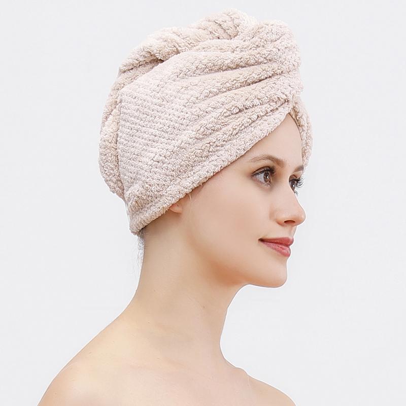Новинка 2021, супервпитывающий и быстро сохнущий тюрбан с капюшоном из кораллового бархата с ананасом, быстросохнущая шапочка для волос с длинными волосами, спа-шапочка для душа