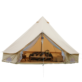 Heavy Duty 100% Cotton Canvas Bell Tent for Outdoor Wedding