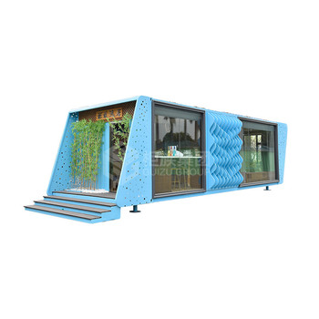 Accept custom shipping container house kit holiday resorts buildings shipping container home 40 feet