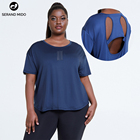 Summer Women Shirts Women 2021 Summer Loose Yoga Sports Wear Workout Clothes Women Plus Size Gym Running Exercise Activewear Yoga T Shirts