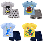 Clothes Summer Baby Children's Clothes Suit Summer Baby Boy Clothes Suit T-shirt Short 2 Pieces Of Casual Cotton Spring