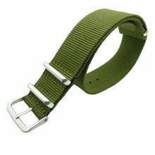 1 шт. ремень Nato 18 мм 20 мм нейлоновый ремешок для часов для мужчин и женщин, мужские часы, заменяемые Мужские t ремешок для Daniel Wellington 18 мм 20 мм(China)