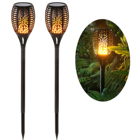 Torch Light Flame Lamp Garden Lamps Outdoor Solar Recharge Torch Light Landscape Led Solar Flame Lamp
