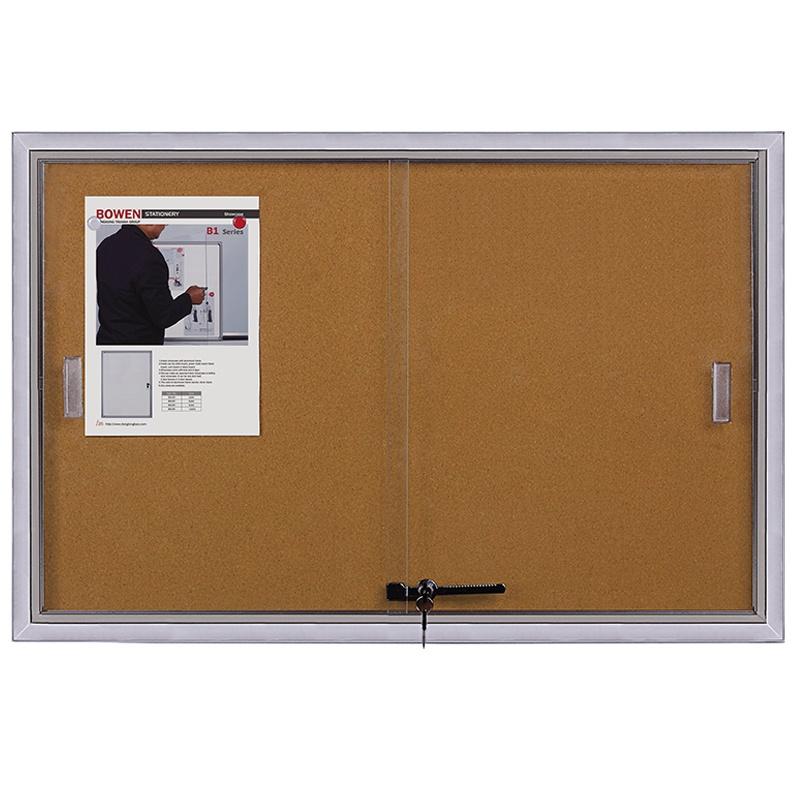 In door mute push pull bulletin board with aluminium frame for school and office - Yola WhiteBoard | szyola.net