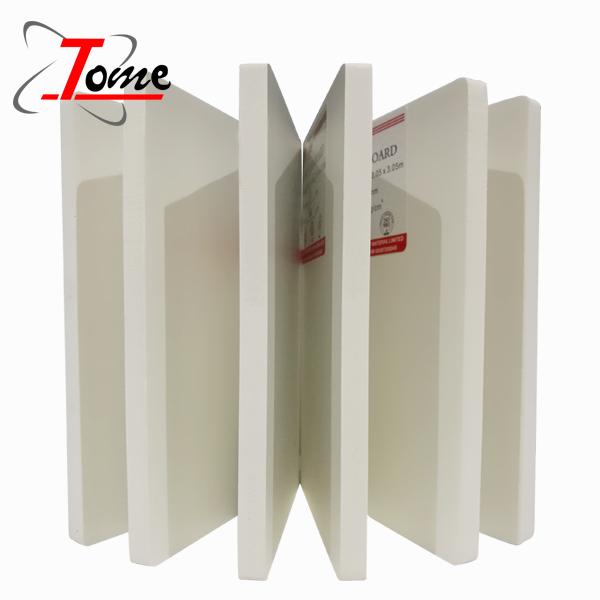 rigid high density pvc foam sheet with Adhesive sticker