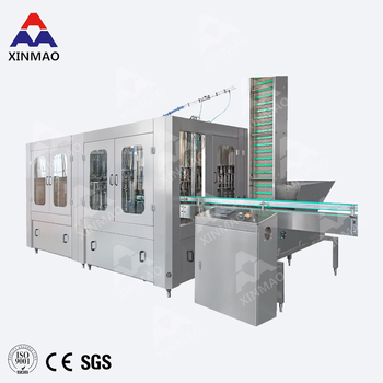 Low price mineral water plant, two stage ro system mineral water machine