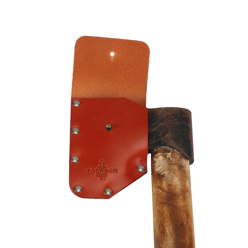Genuine Leather Axe Blade Sheath Axe Head Cover