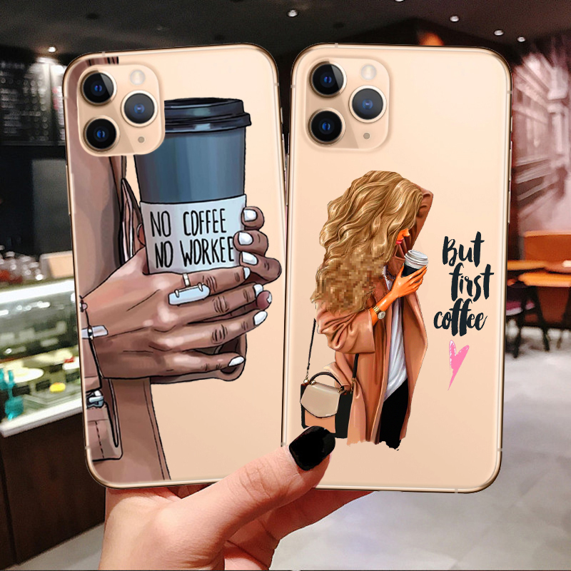 Fashion Girls High Heels Shoes Legs Coffee Heart For Iphone 11 Pro 7plus 7 6s 8 8plus,For Iphone 11 Coffee Cover Case - Buy For Iphone 11 Coffee Cover ...