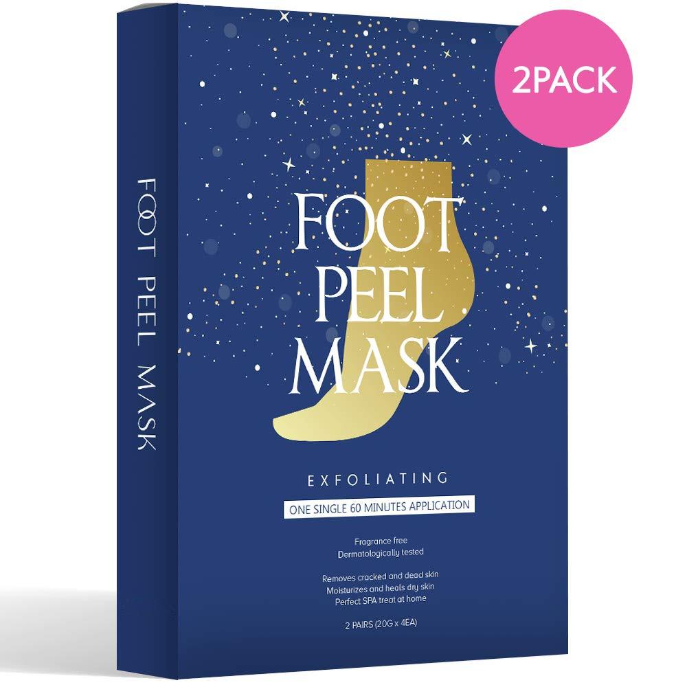 Trendy Crazy Exfoliating Foot Peeling Socks Natural Organic Foot Skin Care Callus Remover Foot Peel Mask